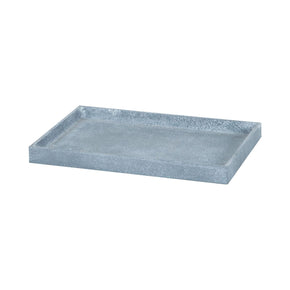 Faux Concrete Bath Tray Texture