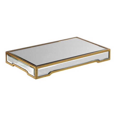 Trays - Uttermost UTT-18903 Carly Mirrored Tray | 792977189030 | Only $96.80. Buy today at http://www.contemporaryfurniturewarehouse.com