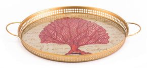 Red Coral Tray
