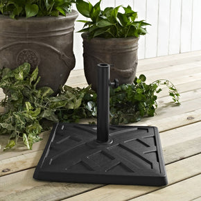 Square Umbrella Base - Black