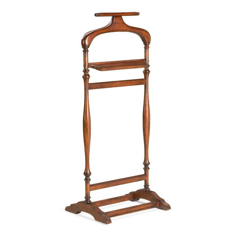 Judson Traditional Valet Stand Dark Brown