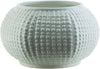Clearwater Coastal Table Vase Gray Light