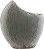 Clearwater Coastal Table Vase Charcoal Light Gray Olive