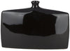 Druid Modern Table Vase Black