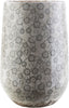 Vases - Surya FLR910-M Flora Contemporary Table Vase Gray, Ivory, Taupe | 888473142102 | Only $143.40. Buy today at http://www.contemporaryfurniturewarehouse.com