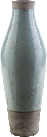 Leclair Cottage/country Table Vase Light Gray Olive