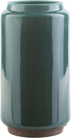 Montero Contemporary Table Vase Teal