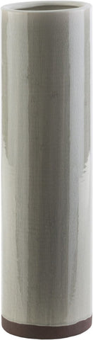 Nazario Modern Table Vase Light Gray