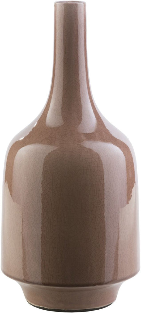 Olsen Modern Table Vase Mocha