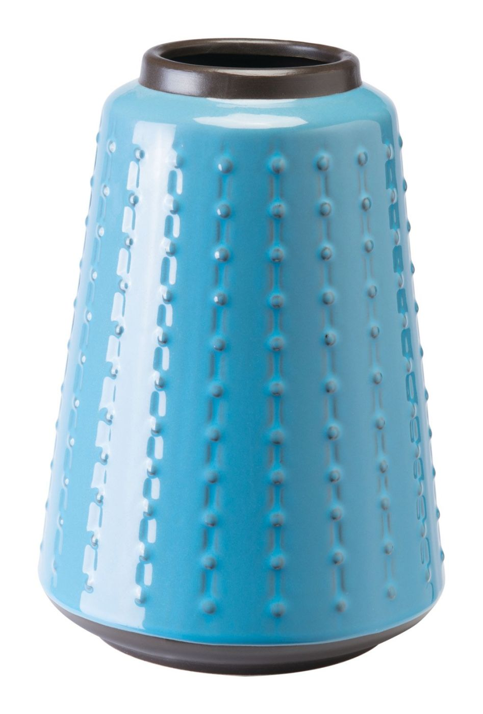 Dot vase small blue by zuo modern zuo a10394 for Dot wall vase