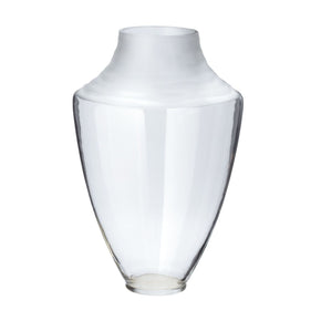 Spin Cut Pure Vase - Clear Vase/urn