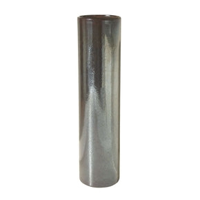 Tarnished Metallic Pillar Vase - Sm Vase/urn