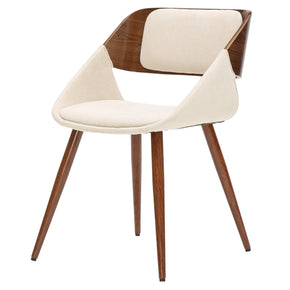 New Pacific Direct 1160003-290W Cyprus Fabric Chair Santorini Sand Beige