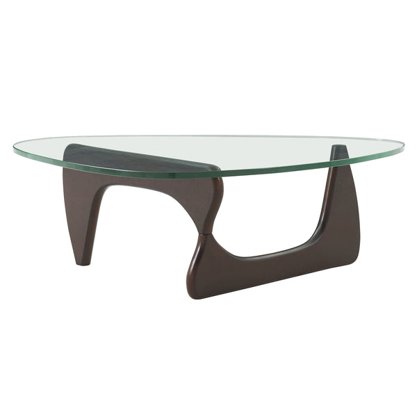 New Pacific Direct 6300045 Atwood Coffee Table Walnut
