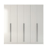 Eldridge 4- Drawer He/she Freestanding Armoire In White Gloss Wardrobe