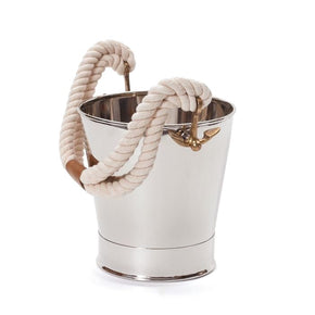White Rope Chiller Wine Bucket