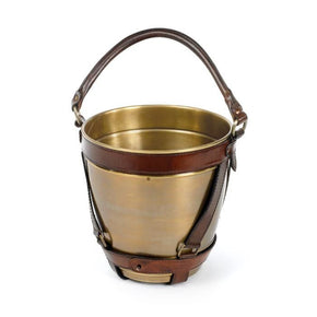 Leather Handle Champagne Bucket Wine