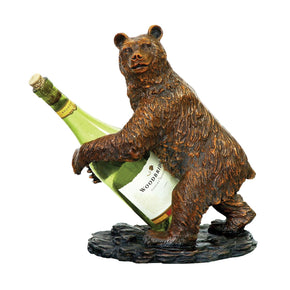 Bear Wine Holder Rack