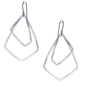 AKARA Earrings Petite in Sterling Silver