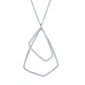 Akara Necklace in Sterling Silver, Petite