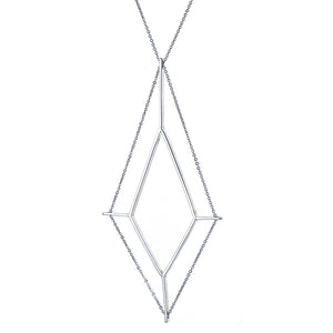 Finestra Necklace in Sterling Silver