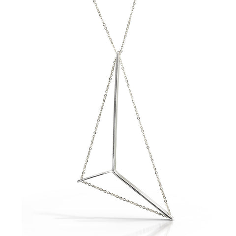 Mainsail Necklace in Sterling Silver