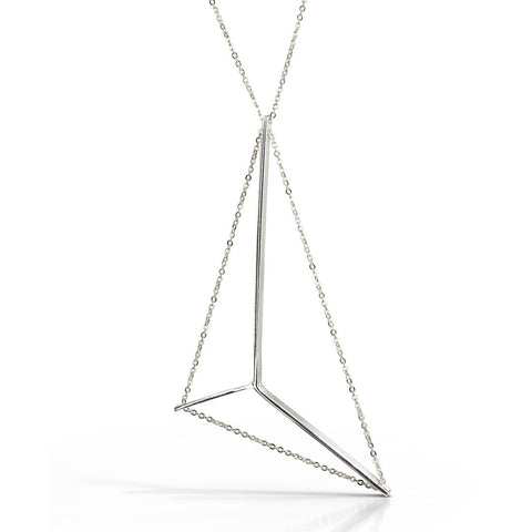 Mainsail Necklace Petite in Silver