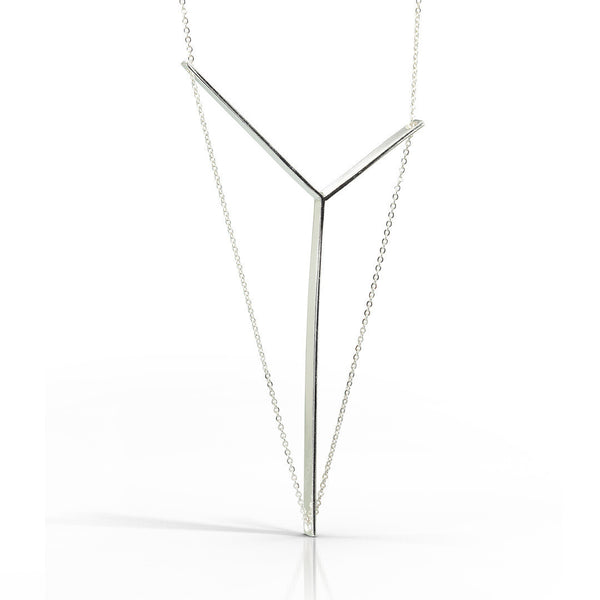 Victoria Necklace in Sterling Silver