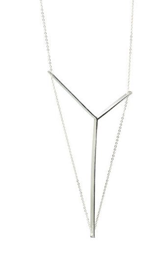 Victoria Necklace Petite in Sterling Silver