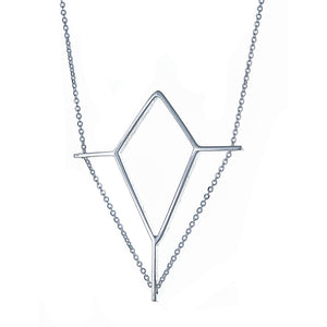 Jendela Necklace in Sterling Silver