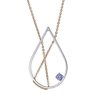 30% OFF!: Petal Necklace with Iolite
