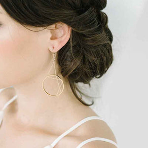 Aperture Earrings