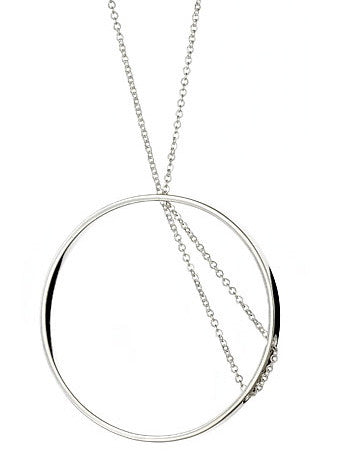 Tria Necklace in Sterling Silver