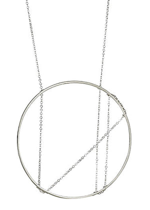 Platner Necklace in Sterling Silver