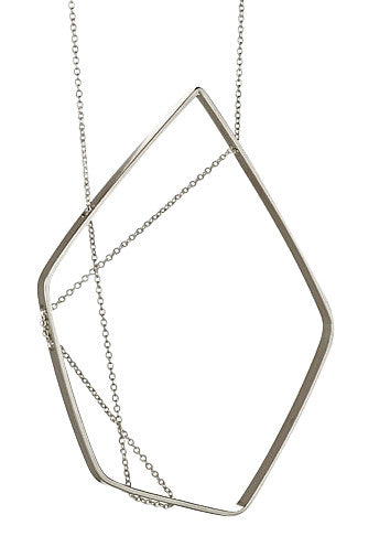FORME Necklace in Sterling Silver