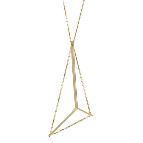 Mainsail Necklace in Gold