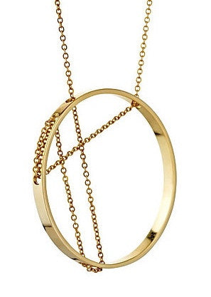 Vitruvia Necklace in Yellow Gold