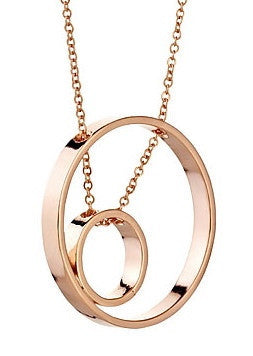 Juno Necklace in Rose Gold