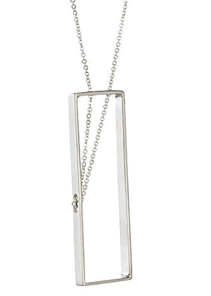 Deco Necklace in Sterling Silver