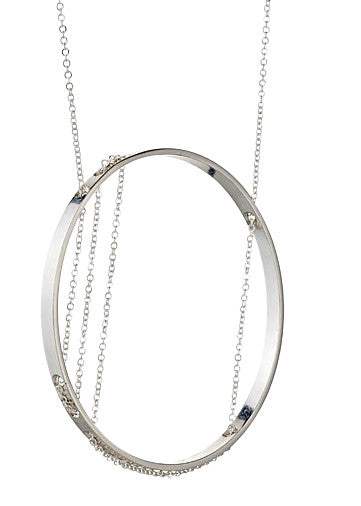 Corinthia Necklace in Sterling Silver