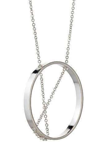 Inner Circle Necklace in Sterling Silver
