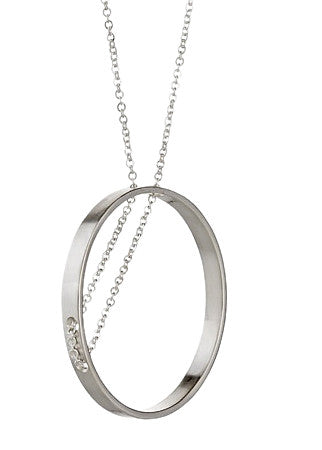 Parallea Necklace in Sterling Silver