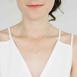 Vertex Necklace in Sterling Silver