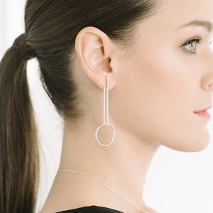 Portico Earrings in Sterling Silver