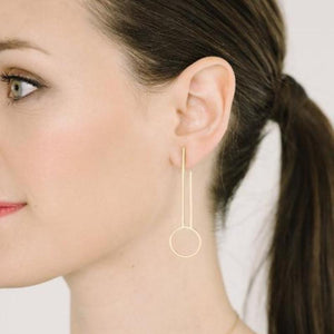 Portico Earrings in 14K Gold