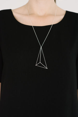 Mainsail Necklace Petite in Gold