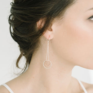 Delvaux Earrings in Silver and Gold