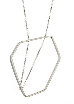 Saarinen Necklace in Sterling Silver