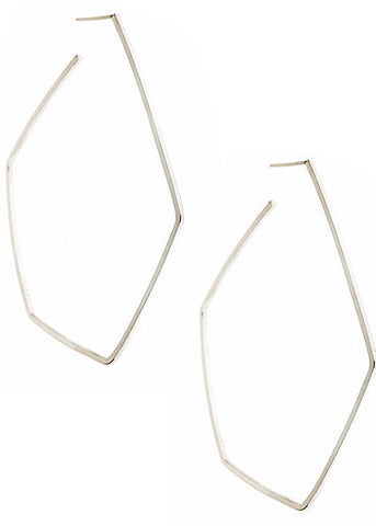 FORME Hoops in Sterling Silver
