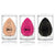 3 Tear Drop Beauty Sponges - Lurella Cosmetics